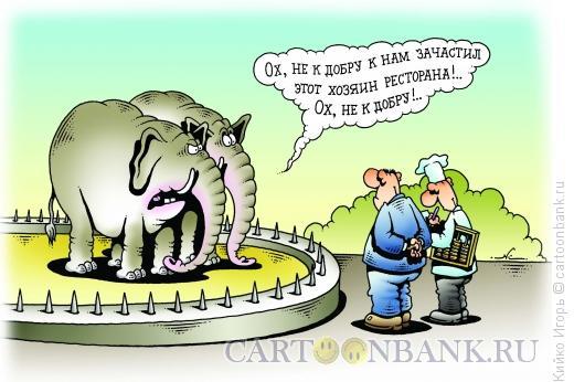 Карикатура: Не к добру, Кийко Игорь