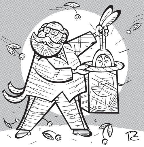 Карикатура: Ловкость рук и никакого мошенничества, Сергей Репьёв