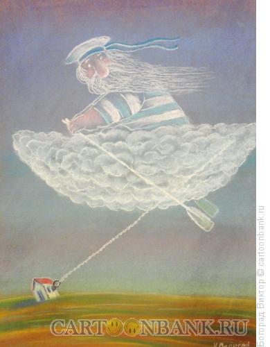 Карикатура: Якорь, Богорад Виктор