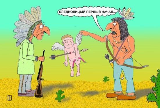 Карикатура: Что-то не сработало..., Олег Тамбовцев