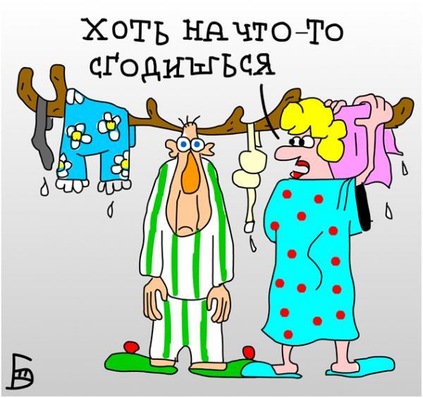 Карикатура: Нужная в хозяйстве вещь, Дмитрий Бандура