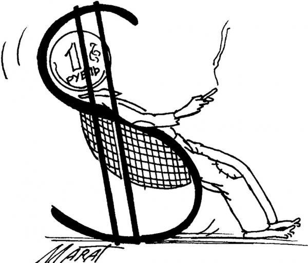 Карикатура: Качалка, Марат Валиахметов