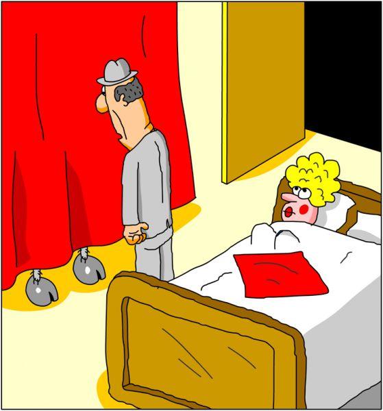 Карикатура: Немой вопрос, Дмитрий Бандура