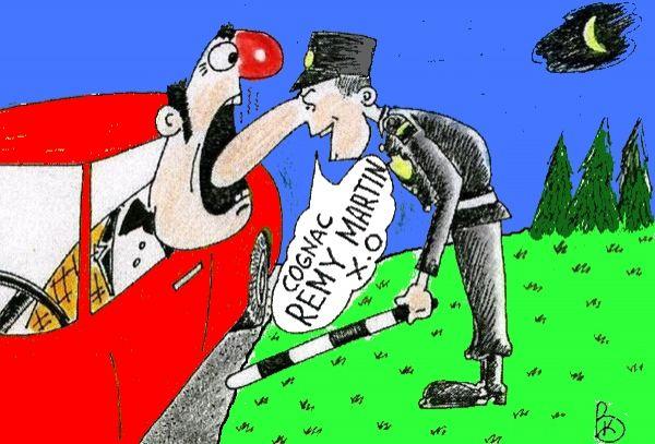 Карикатура: Дегустационный нос, Валерий Каненков
