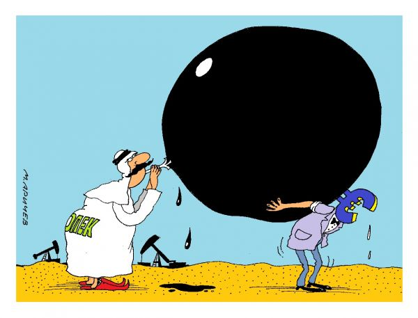 Карикатура: опек рулит, михаил ларичев