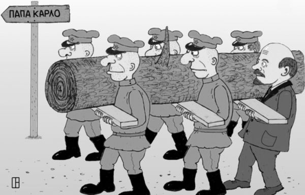 Карикатура: Субботник., Олег Тамбовцев