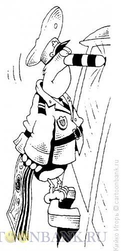 Карикатура: Дятел, Кийко Игорь