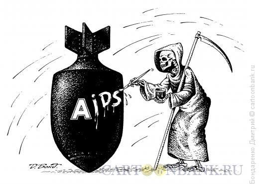 Карикатура: Смертельное оружие, Бондаренко Дмитрий