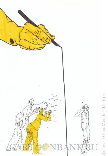Карикатура: переговоры, Дергачёв Олег