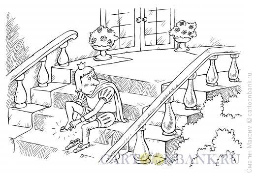 Карикатура: Примерка, Смагин Максим