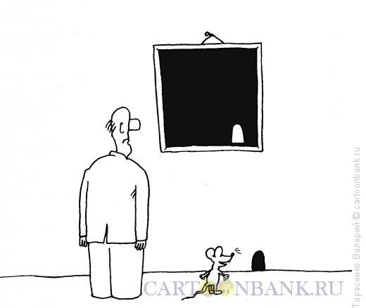 Карикатура: Шутка в музее, Тарасенко Валерий