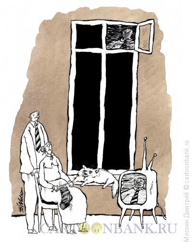 Карикатура: Двойники, Москин Дмитрий