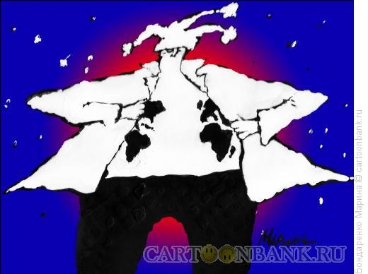 Карикатура: клоун, Бондаренко Марина