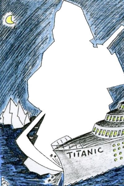 Карикатура: Айсберг, Валерий Каненков