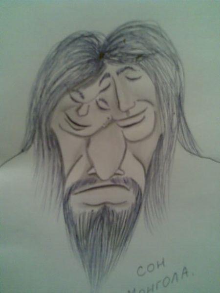 Карикатура: сон монгола, Вадим Крюков