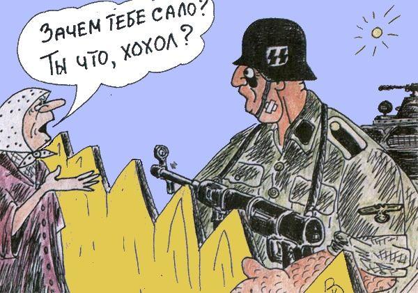 Карикатура: Не в бровь а в глаз, Валерий Каненков