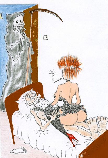 Карикатура: Т-с-с, Валерий Каненков