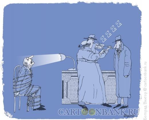 """Карикатура: """"Элементарно, Ватсон""""-5, Богорад Виктор"""