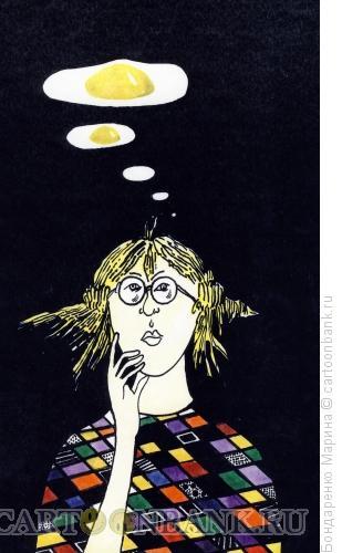 Карикатура: мысли, Бондаренко Марина