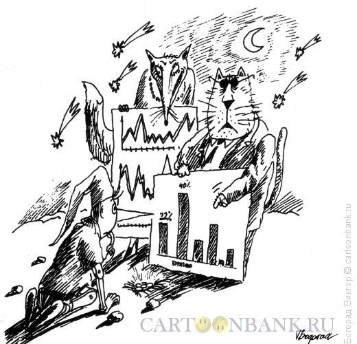 Карикатура: Поле чудес, Богорад Виктор