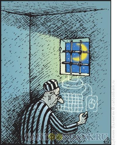 Карикатура: Хакер, Дубинин Валентин