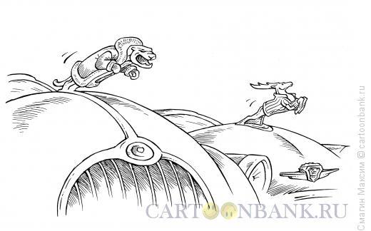 Карикатура: Зимняя одежда, Смагин Максим