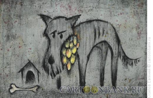 Карикатура: награда героя, Осипов Евгений