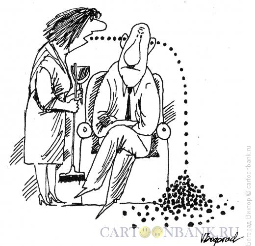 Карикатура: Безмятежность, Богорад Виктор