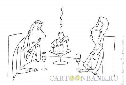 Карикатура: Свеча, Смагин Максим