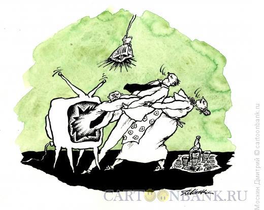 Карикатура: на троих, Москин Дмитрий