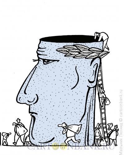 Карикатура: Интеллектуальное право, Мельник Леонид