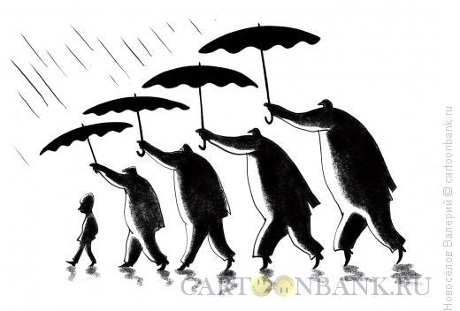 Карикатура: властолюбы, Новосёлов Валерий