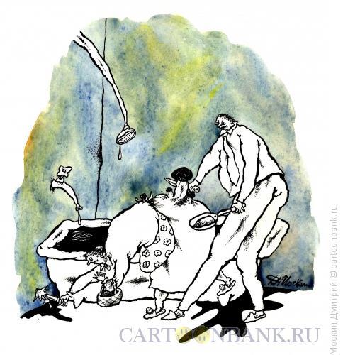 Карикатура: по грибы, Москин Дмитрий