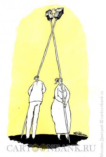 Карикатура: диалог, Москин Дмитрий