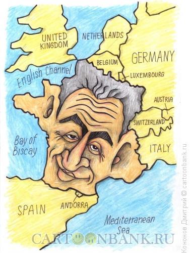 Карикатура: Саркози, Кононов Дмитрий