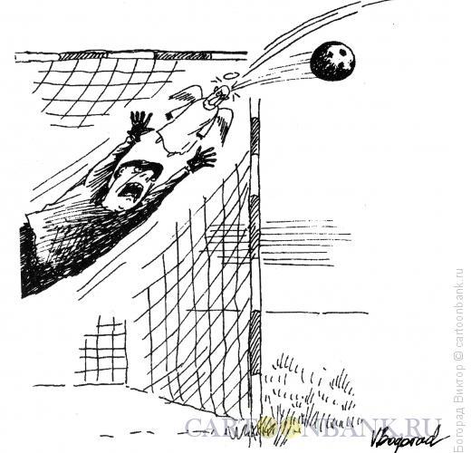 Карикатура: Ангел-хранитель, Богорад Виктор