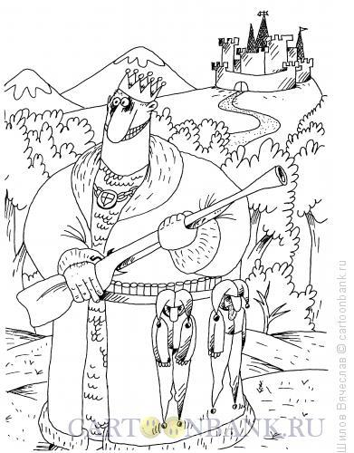 Карикатура: Охота, Шилов Вячеслав
