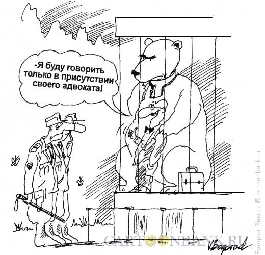 Карикатура: Адвокат, Богорад Виктор