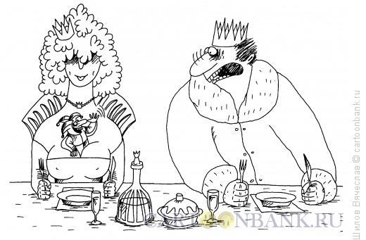 Карикатура: Шутка, Шилов Вячеслав