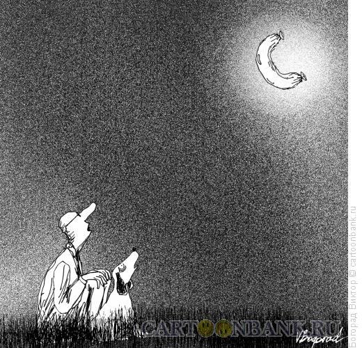 Карикатура: колбаса, Богорад Виктор