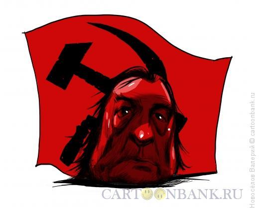 Карикатура: сталинист, Новосёлов Валерий