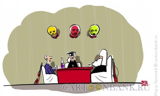 Карикатура: Охотники, Иорш Алексей