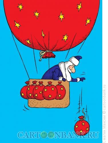 Карикатура: Воздухоплаватель, Смагин Максим