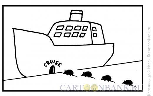Карикатура: круиз, Копельницкий Игорь