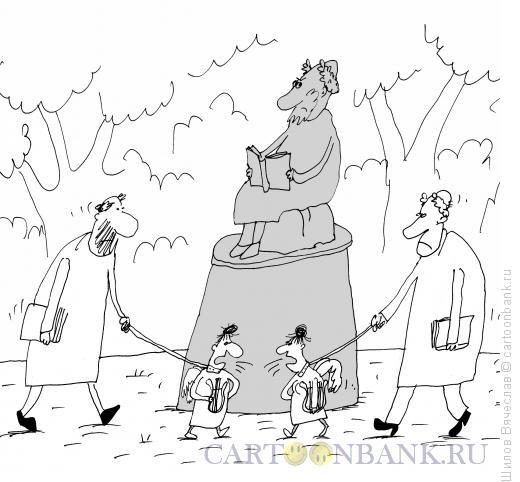 Карикатура: Музы, Шилов Вячеслав