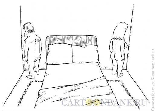 Карикатура: Провинились, Смагин Максим