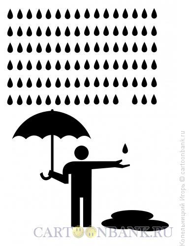Карикатура: лужа, Копельницкий Игорь