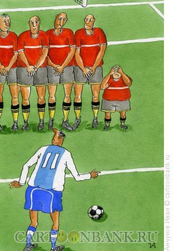 Карикатура: Большая разница, Анчуков Иван