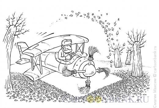 Карикатура: Аэродворник, Смагин Максим