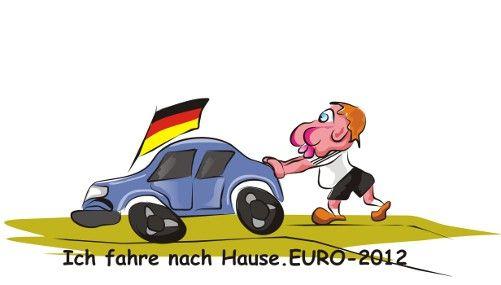 Карикатура: Сборная германии.